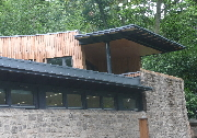 Visitor centre in Jesmond Dene