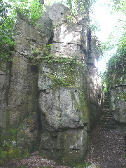 grotto in Jesmond Dene
